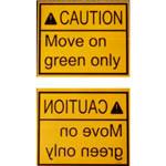 7.Zestaw znaków informacyjnych — zawierają ważne instrukcje dla kierowcy. Wszystkie znaki są wydrukowane w standardowej kolejności w odbiciu lustrzanym (dobrze czytelne przez lusterko wsteczne). Dostępne w językach angielskim, niemieckim, polskim, rosyjskim, ukraińskim i innych — na życzenie (może pobierać się dodatkowa opłata).